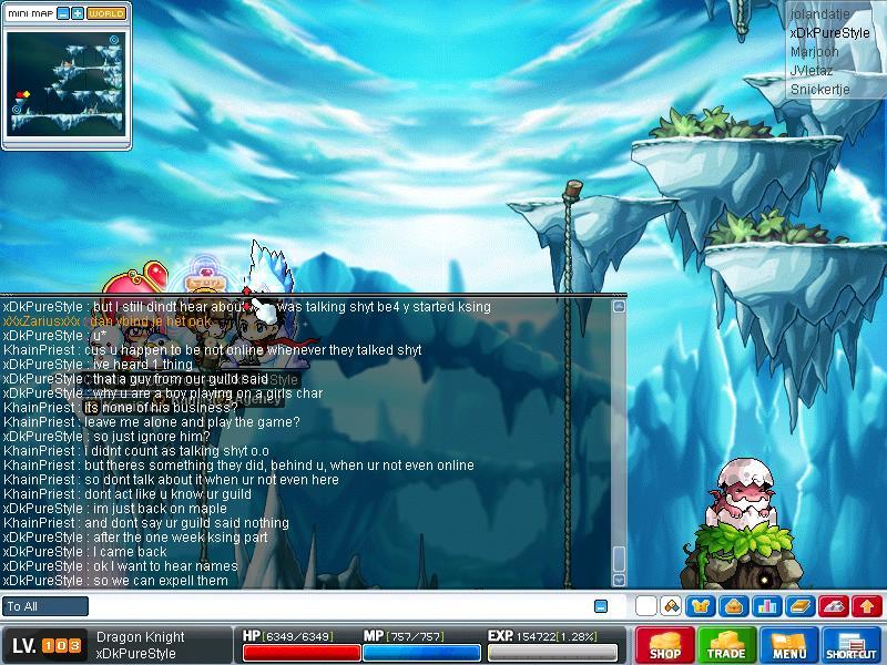 KhainPriest chat Maple019