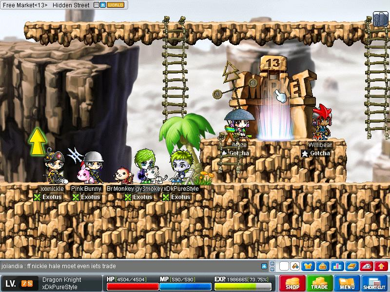 Post here your random screenshots Maple023