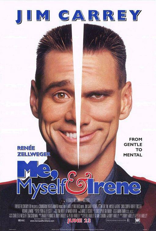 فيلم الكوميديا الرائع للكبار فقط للنجم Jim Carrey وفيلم Me, Myself And Irene - DVDRip مترجم بحجم 313 ميجا علي اكثر من سيرفر 91959510