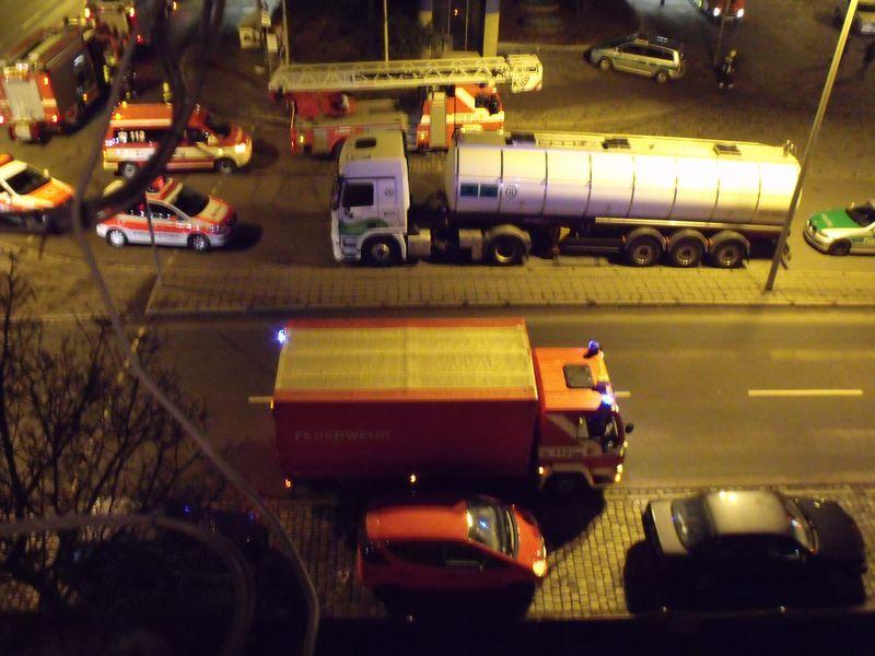 Feuerwehreinsatz in Nürnberg Feuerw11