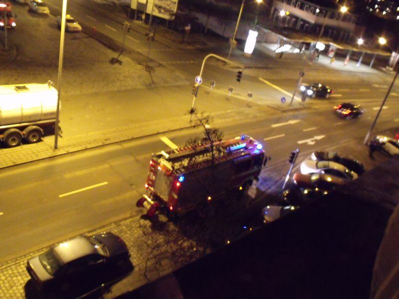 Feuerwehreinsatz in Nürnberg Feuerw13