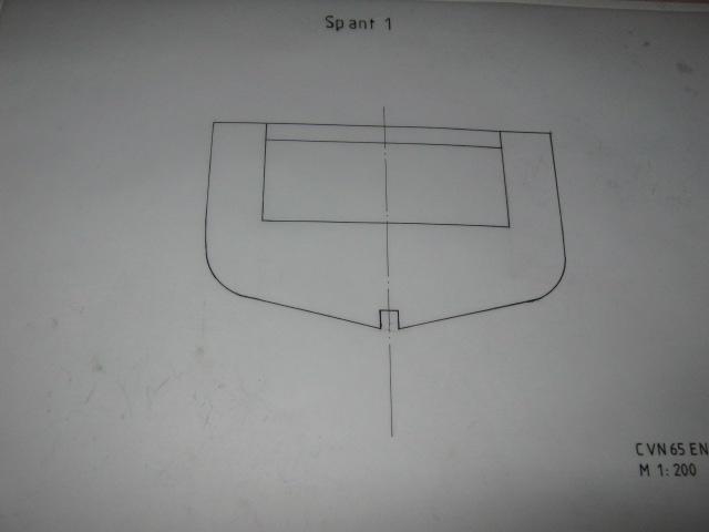 Planung des Flugzeugträgers CVN 65 Enterprise 1/200. Spante28
