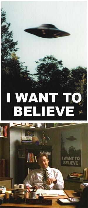 Poster X-Files Believ10