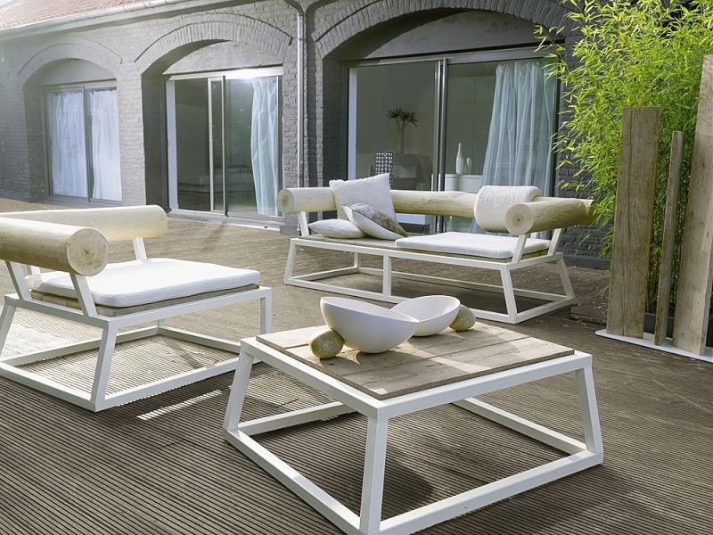Quel mobilier de jardin sur une terrasse bois - Mobilier de jardin bois ...