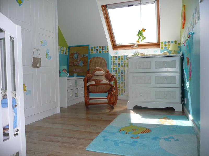 je recherche des photos de chambres d enfant dans les turquo Chambr11