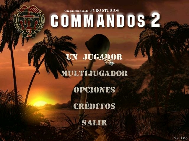 COMMANDOS 2: MEN OF COURAGE Cm200110