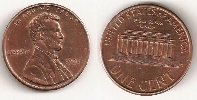 1 cent de 1994, Filadelfia 1_cent12