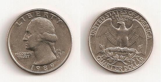 Quarter Dollar de 1989, Denver Cuarto10