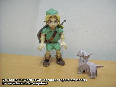 Les persos de Nintendo en papier ! 12291110