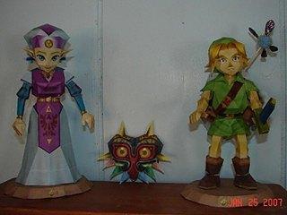 Les persos de Nintendo en papier ! 20025410