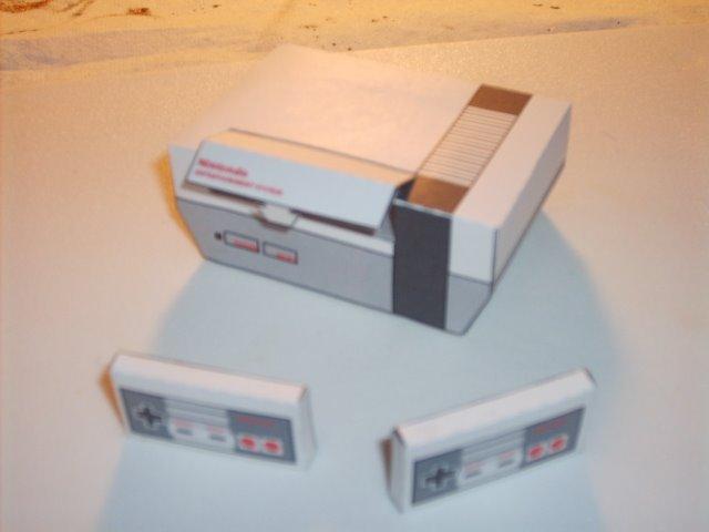 Les persos de Nintendo en papier ! Nes210