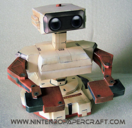 Les persos de Nintendo en papier ! Ref5110