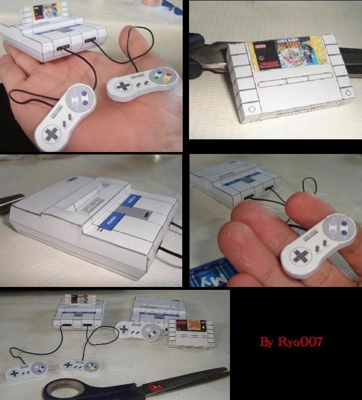 Les persos de Nintendo en papier ! Snes_p10