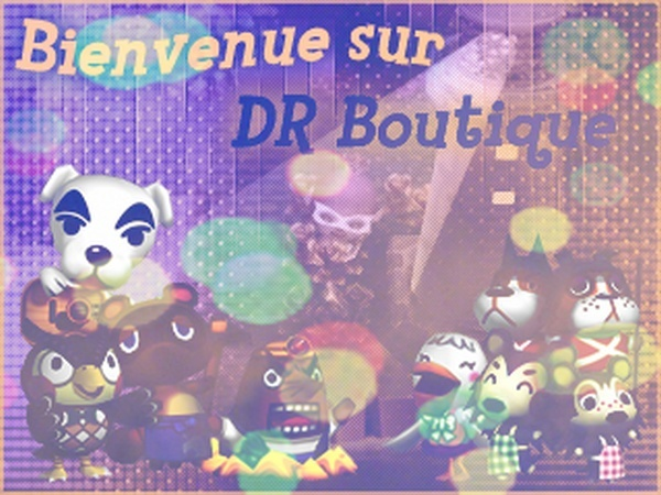 Animal Crossing DR Boutique
