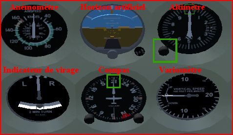 Tuto spécial débutant : Formation sur le c172p (tour de piste sur Nantes LFRS) 110