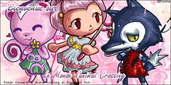 Le monde d'Animal Crossing & d'Enchanted Folk