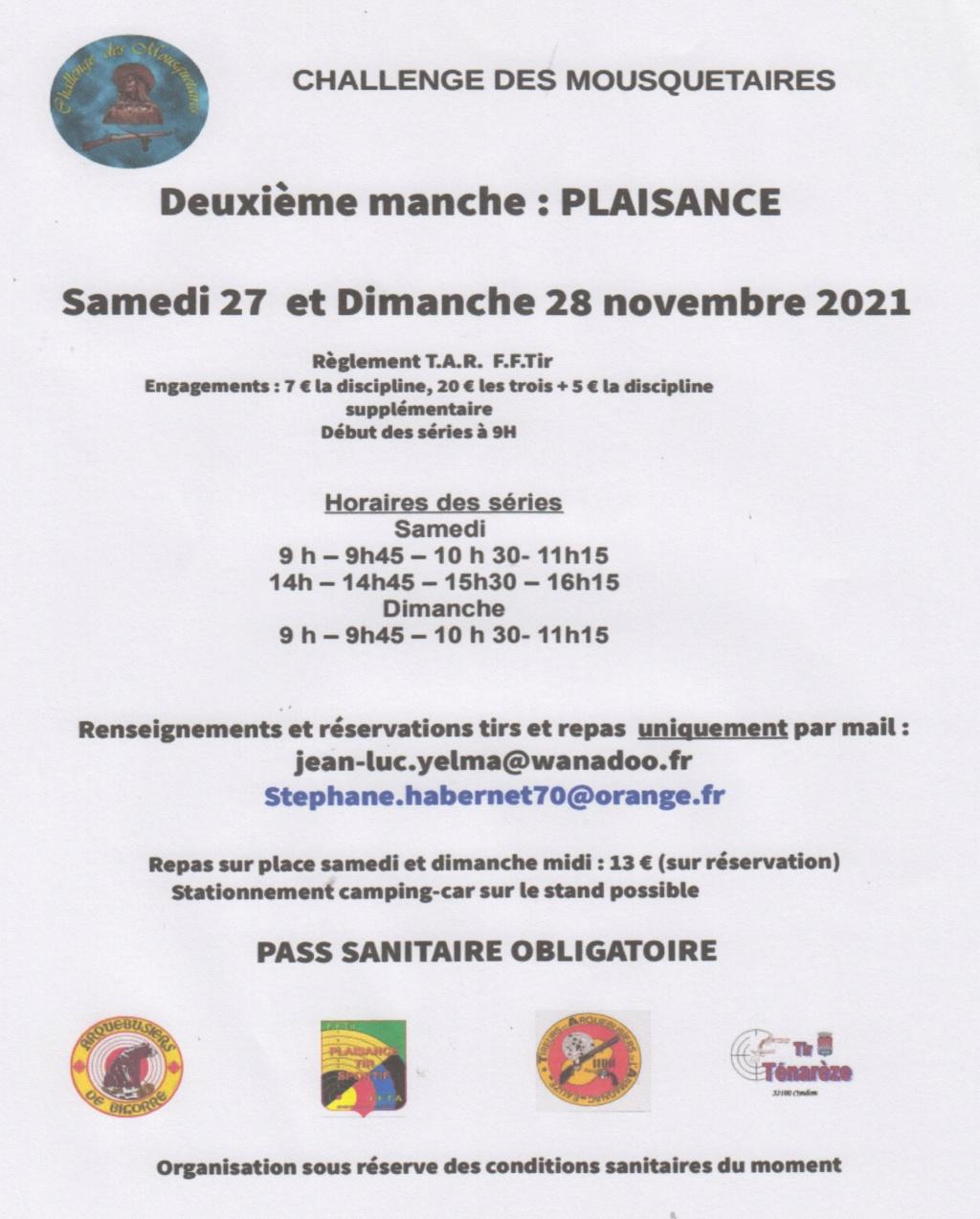 Challenge  des Mousquetaires 2021-2022 Ckalle10