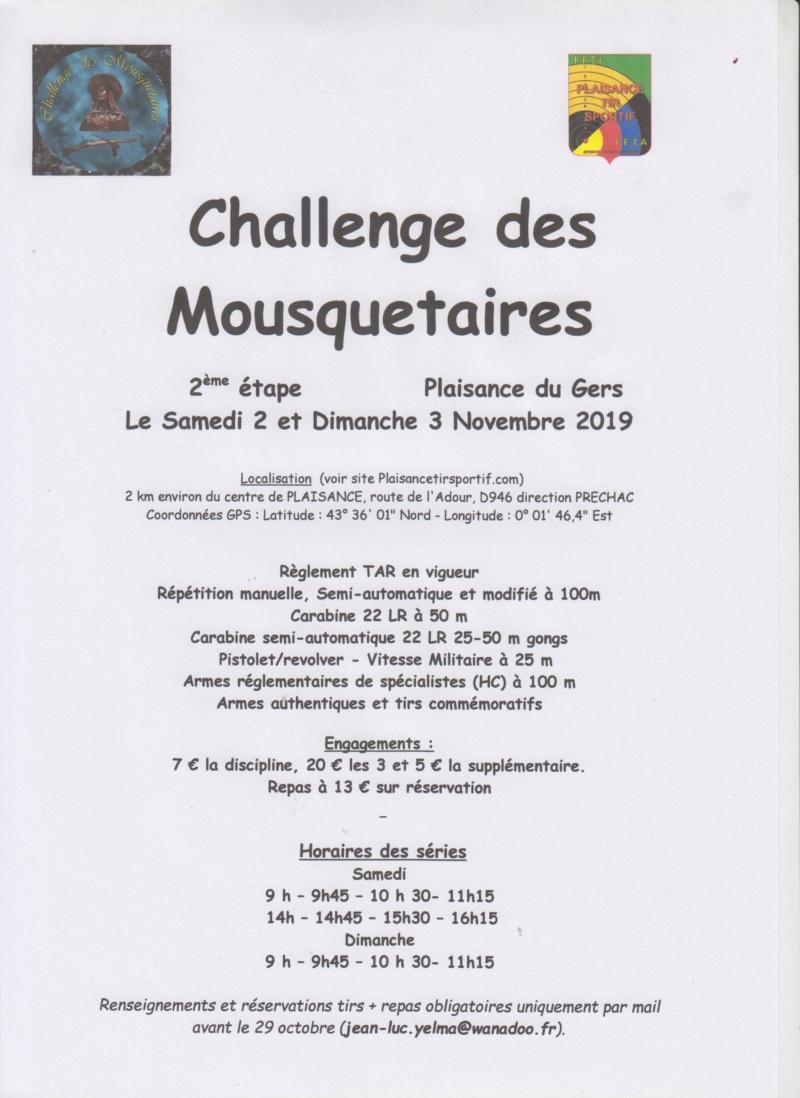 Challenge des Mousquetaires 2019/2020 , ça repart ! Tar_2010