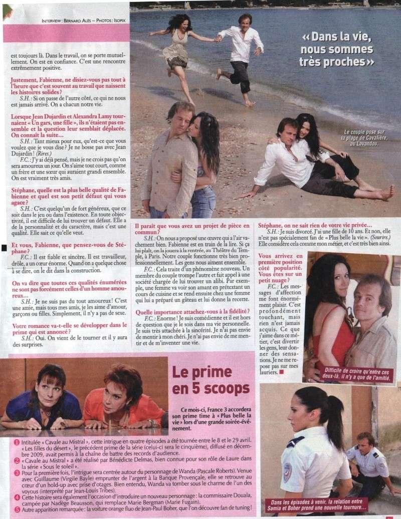 ciné télé revu du 4 au 10 juin 2010 fabienne et stéphane Artire10