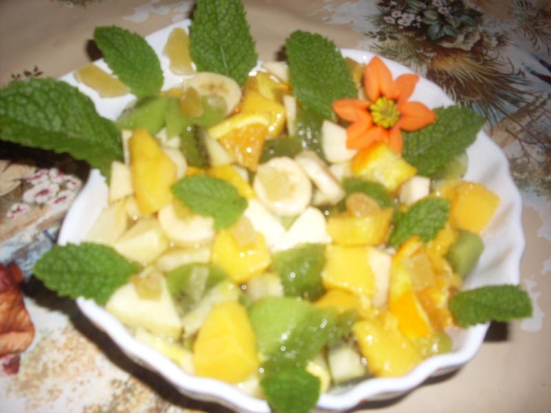 Salade de Fruits au Gingembre Desser10