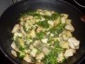 escalopes de poulet aux petits légumes.photo Sauta_20