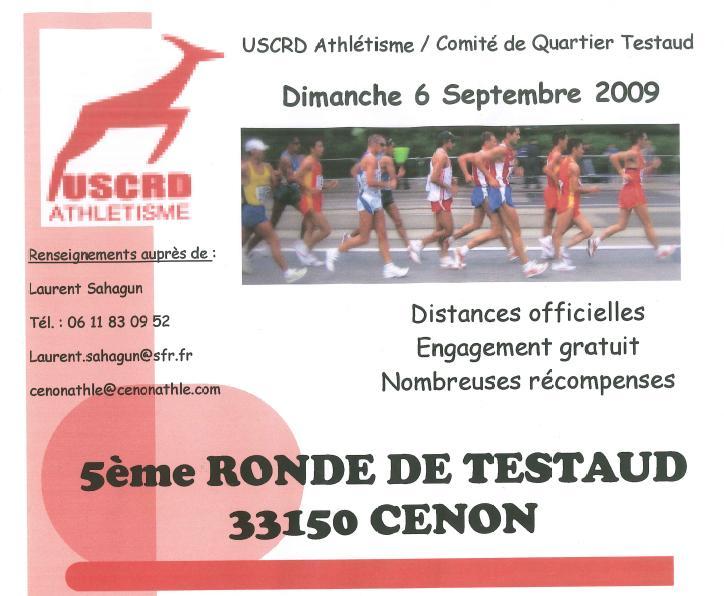 La ronde de TESTAUD le 06 septembre 2009 à CENON (33) Cenon110