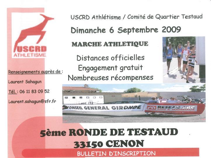 La ronde de TESTAUD le 06 septembre 2009 à CENON (33) Cenon310