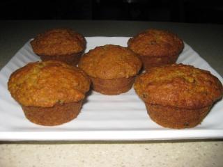 Muffins à l'orange et dattes Muffin10