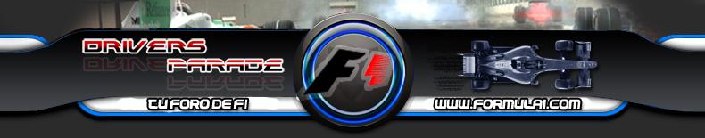 Drivers Parade | Foro de Formula 1