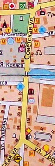 Жители Ружан подскажите, далеко ли пл. 17 Сентября, 4 от автостанции? 100_2710
