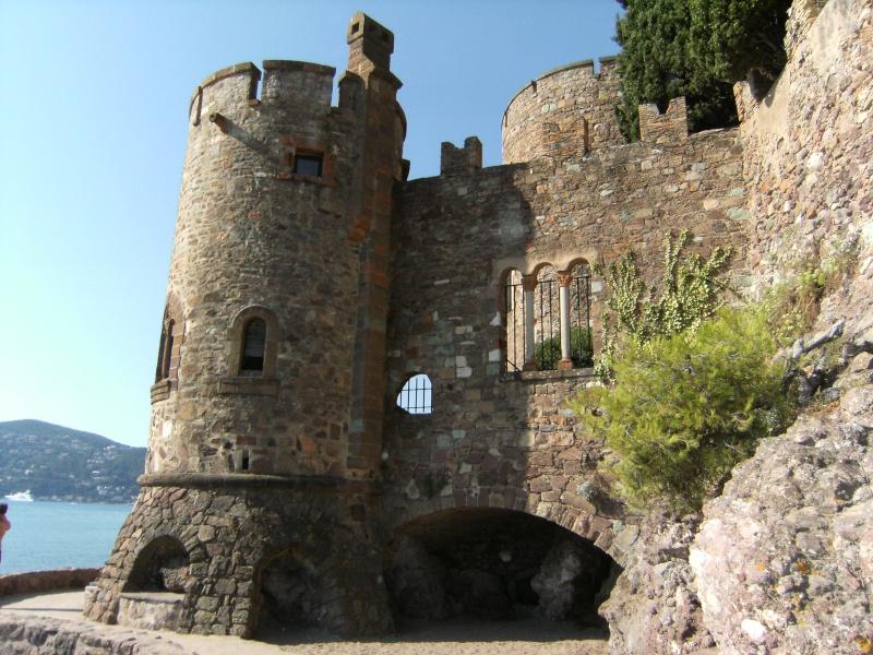 Alpes-Maritimes 3: Mandelieu-la-Napoule, le château Dscf0271