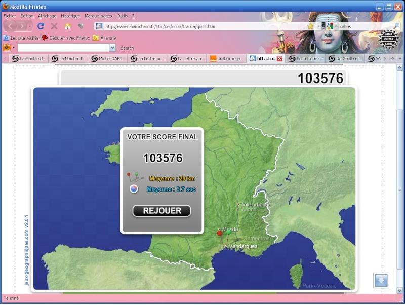 Quizz villes de France Score_12