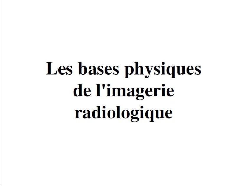 les bases physiques de l'imagerie radiologique Sans_t28