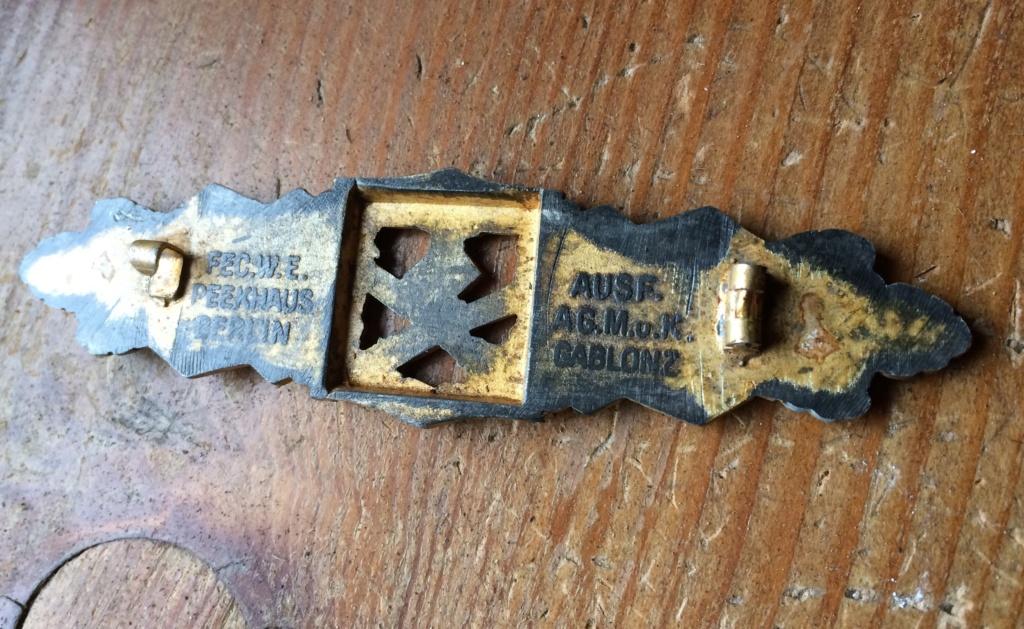 Authentification badge combat rapproché allemand 7ab55610
