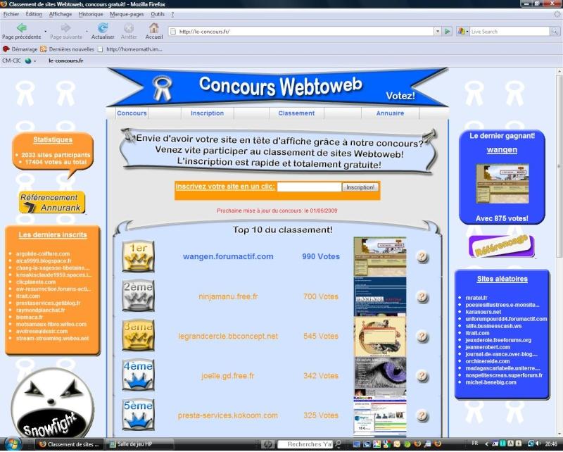Il était une fois Wangen:1er au classement Webtoweb ! - Page 4 Webtow10