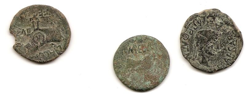 Posible estimación en monedas con marcas legionarias. Anv18