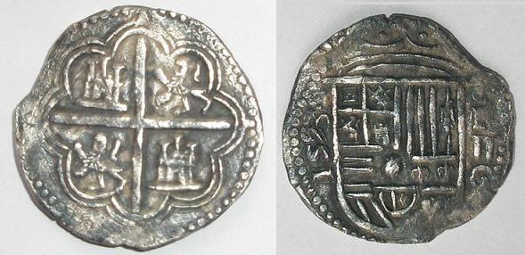 2 reales de Felipe II Anvers11