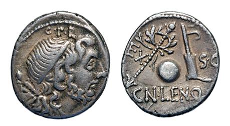 denarios republicanos de hispania Denari10