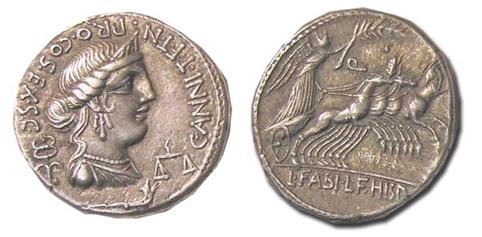 denarios republicanos de hispania Dener11