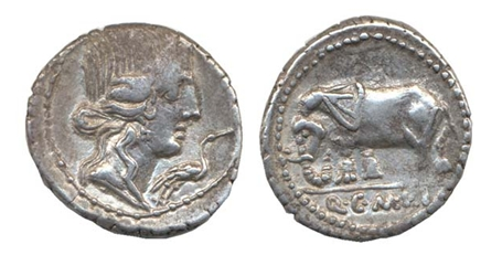 denarios republicanos de hispania Dener12