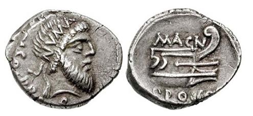 denarios republicanos de hispania Dener13