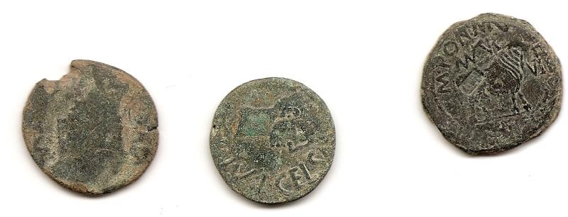 Posible estimación en monedas con marcas legionarias. Rev12