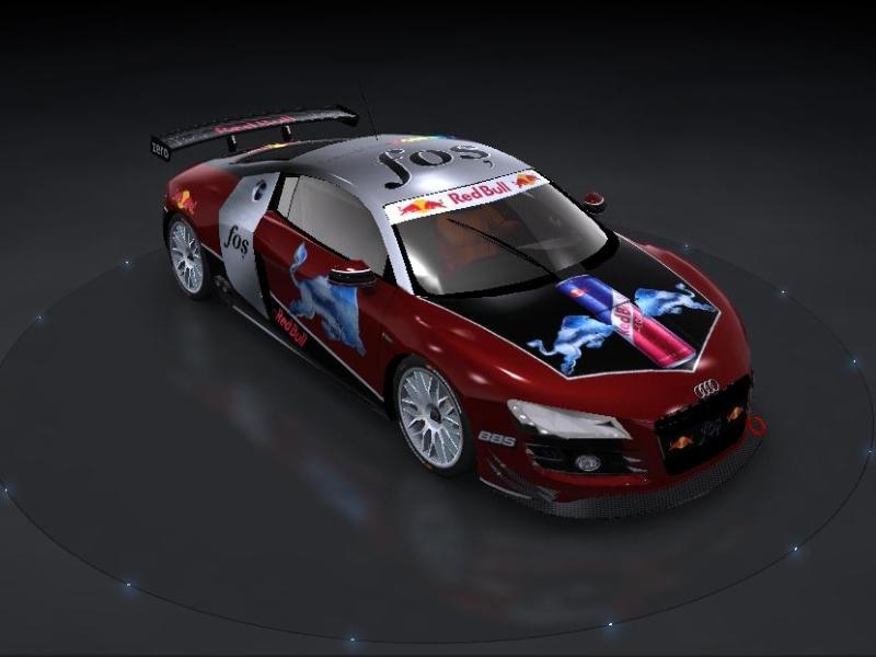 fos-Car Skin Audi_r10