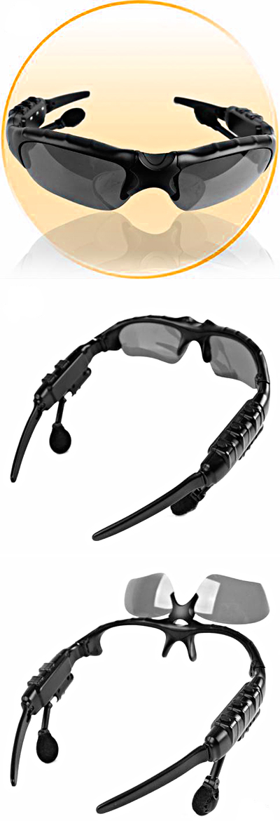 Cool Gadget: WMA and MP3 Player Sunglasses Spec-m10