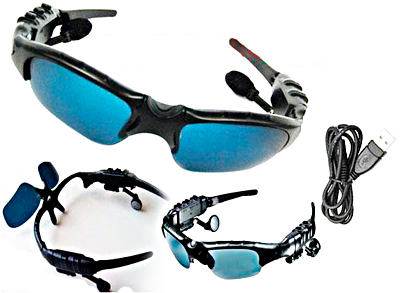 Cool Gadget: WMA and MP3 Player Sunglasses Spec-m11