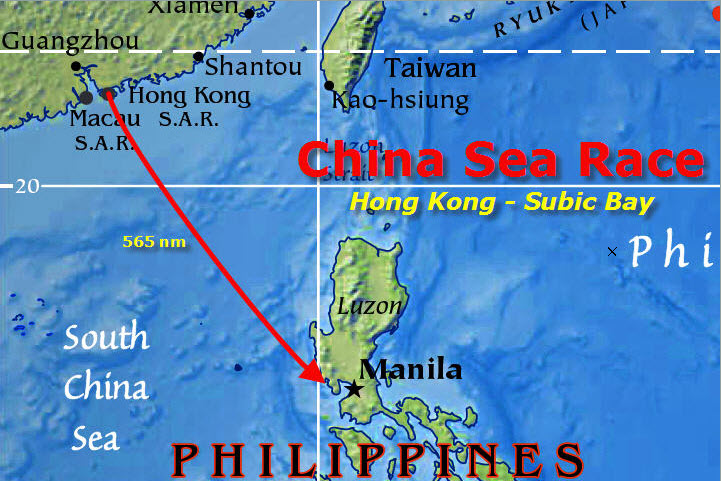 China Sea Race (VLM - 2010/04/01 04:10:00 GMT) Vlm-0010