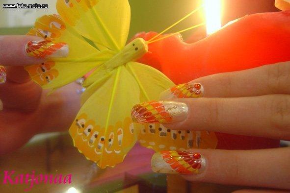 Фотографии интересных дизайнов ногтей 18e3ab10