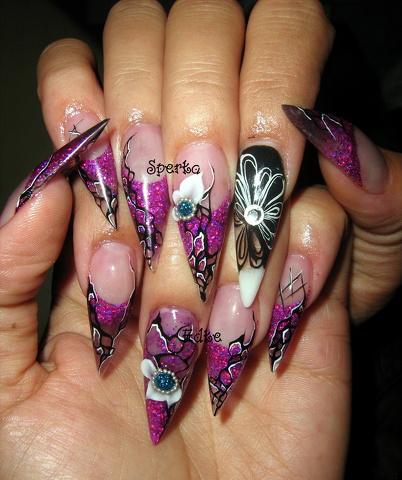 Фотографии интересных дизайнов ногтей 20110110