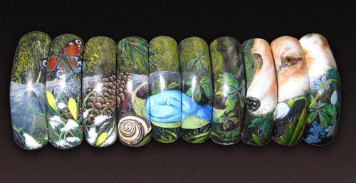 Фотографии интересных дизайнов ногтей 500px_10