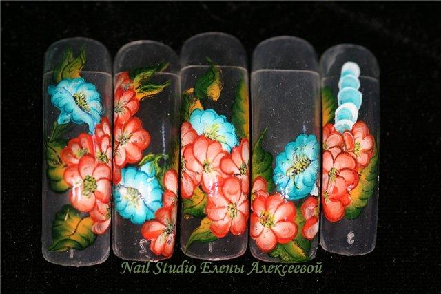 Фотографии интересных дизайнов ногтей 953fcf10